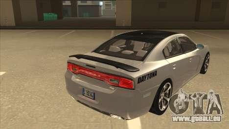 Dodge Charger RT Daytona 2011 V1.0 für GTA San Andreas rechten Ansicht