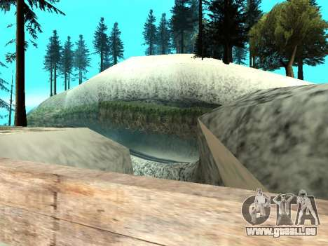 Hiver v1 pour GTA San Andreas douzième écran