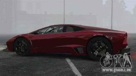 Lamborghini Reventon Body Kit Final pour GTA 4 est une gauche