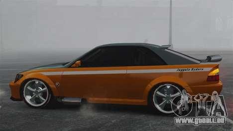 Sultan RS v2.5 für GTA 4 linke Ansicht