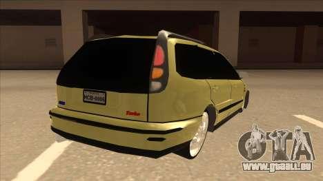 Fiat Marea Weekend pour GTA San Andreas vue de droite