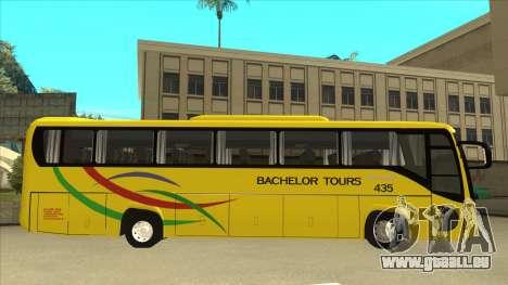 Kinglong XMQ6126Y - Bachelor Tours 435 pour GTA San Andreas sur la vue arrière gauche