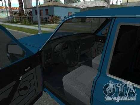 GAZ 311052 pour GTA San Andreas vue arrière