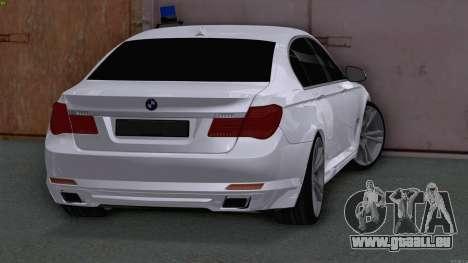BMW 750i FSB pour GTA San Andreas sur la vue arrière gauche