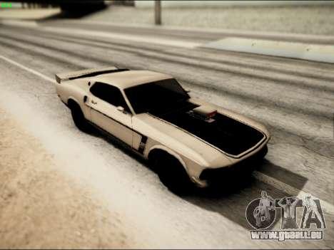 Ford Mustang Boss 302 1969 für GTA San Andreas