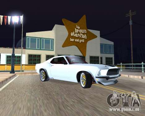 Ford Mustang Anvil für GTA San Andreas