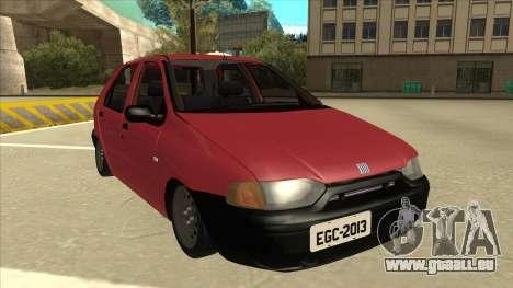 1997 Fiat Palio EDX Edit für GTA San Andreas linke Ansicht