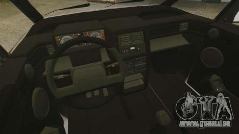 Renault Espace I 2000 TSE pour GTA 4 est une vue de l'intérieur