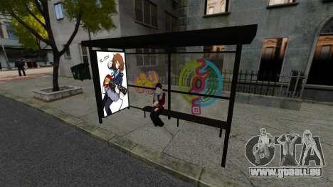 Animation japonaise pour GTA 4 troisième écran