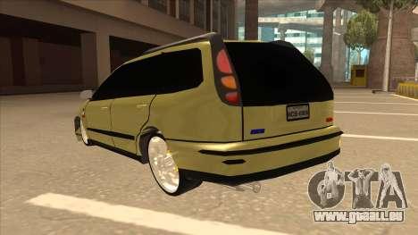 Fiat Marea Weekend pour GTA San Andreas vue arrière