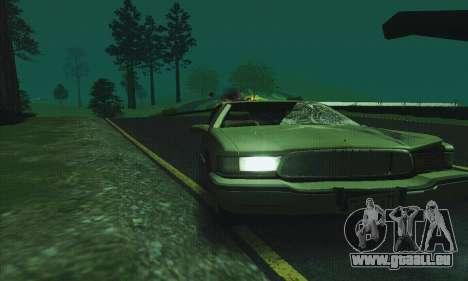 Buick Roadmaster cassé pour GTA San Andreas vue de côté