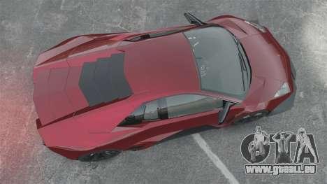 Lamborghini Reventon Body Kit Final für GTA 4 rechte Ansicht