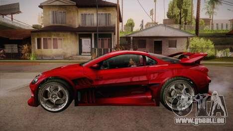 CYBORX CD 10.1s XL-SE Custom für GTA San Andreas linke Ansicht