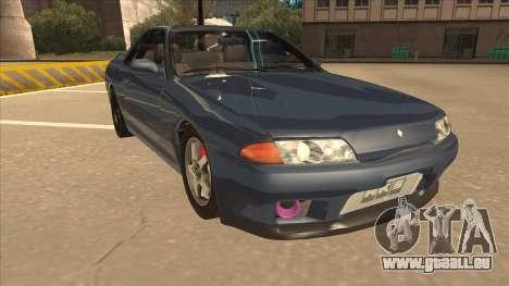 Nissan Skyline GT-S32 Drifter Edition pour GTA San Andreas laissé vue