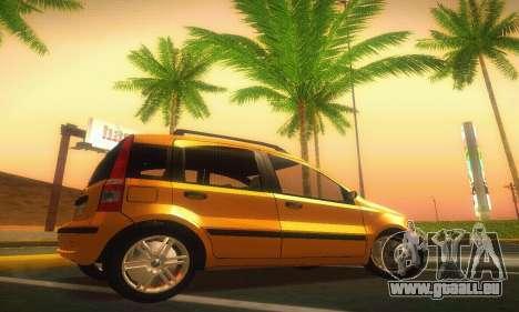 Fiat Panda Taxi für GTA San Andreas linke Ansicht