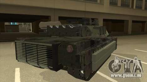 M69A2 Rhino Bosque pour GTA San Andreas vue de droite
