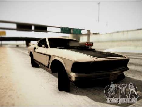 Ford Mustang Boss 302 1969 für GTA San Andreas linke Ansicht