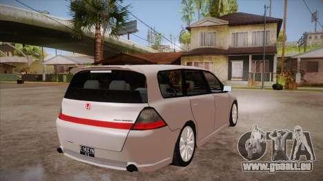 Honda Odyssey v1.5 für GTA San Andreas rechten Ansicht