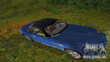 BMW Z8 pour une vue GTA Vice City de l'intérieur