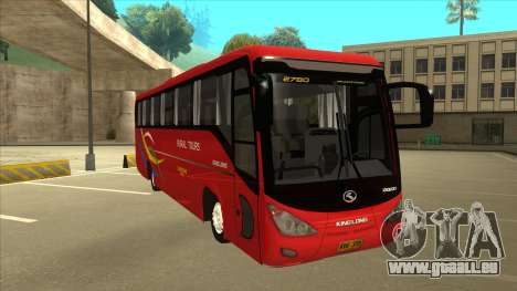 KINGLONG XMQ6126Y - Rural Tours 2780 für GTA San Andreas linke Ansicht