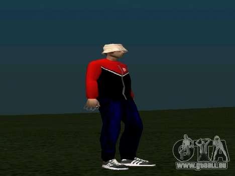 Haut von Maccer für GTA San Andreas zweiten Screenshot