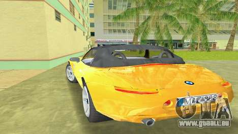 BMW Z8 für GTA Vice City Motor
