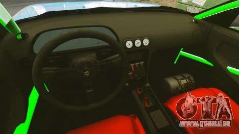 Nissan 240SX pour GTA 4 Vue arrière