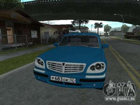 GAZ 311052 pour GTA San Andreas laissé vue