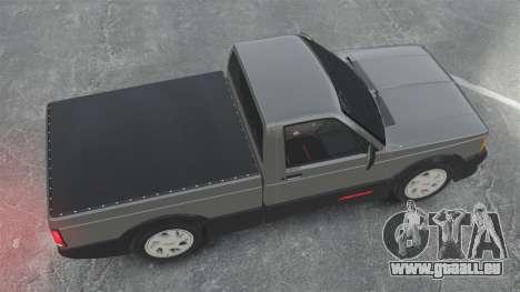 GMC Syclone 1992 für GTA 4 rechte Ansicht