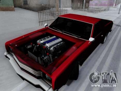 Picador V8 Picadas für GTA San Andreas zurück linke Ansicht