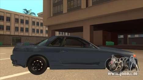 Nissan Skyline GT-S32 Drifter Edition pour GTA San Andreas sur la vue arrière gauche