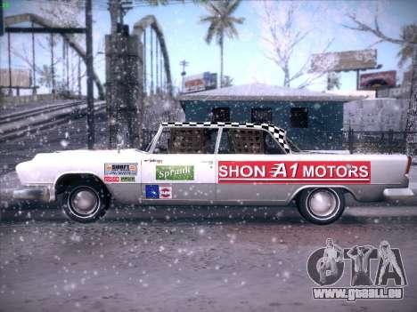 HD Bloodring Banger für GTA San Andreas Rückansicht
