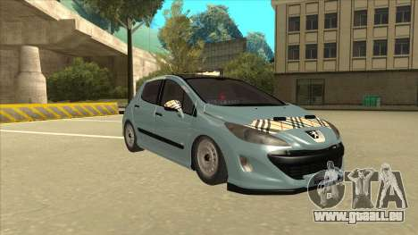 Peugeot 308 Burberry Edition für GTA San Andreas linke Ansicht