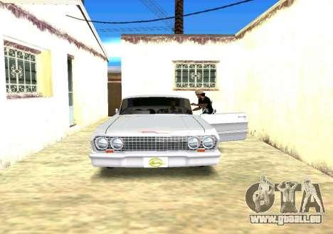 Échange et César pour GTA San Andreas deuxième écran