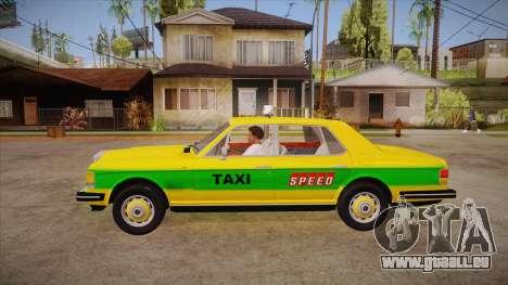Rolls-Royce Silver Spirit 1990 Taxi für GTA San Andreas linke Ansicht