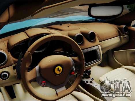 Ferrari California 2009 pour GTA San Andreas moteur