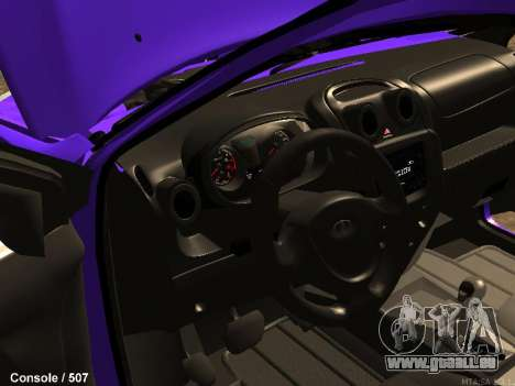 Lada Granta für GTA San Andreas Innenansicht