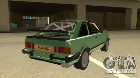 Ford Escort XR3 With Cosworth Spoiler für GTA San Andreas rechten Ansicht