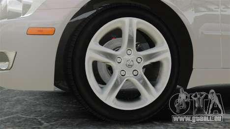 Lexus IS300 für GTA 4 Rückansicht