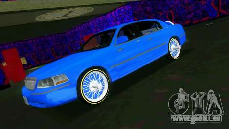 Lincoln Town Car Tuning für GTA Vice City