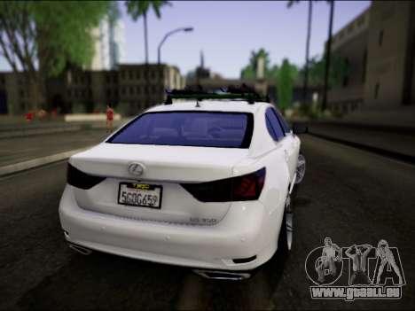 Lexus GS 350 für GTA San Andreas linke Ansicht