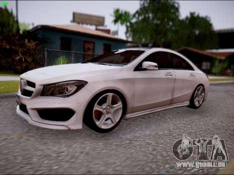 Mercedes-Benz CLA 250 für GTA San Andreas Rückansicht