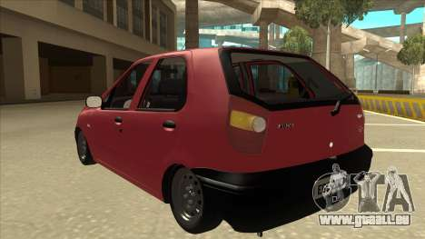 1997 Fiat Palio EDX Edit für GTA San Andreas Rückansicht