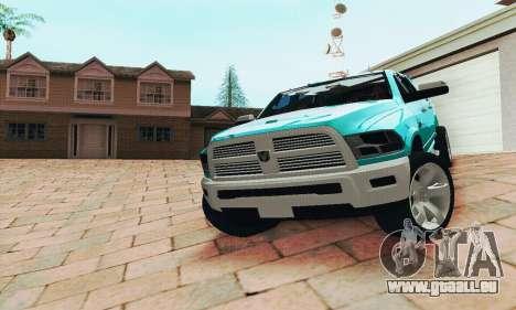 Dodge Ram 2500 HD pour GTA San Andreas