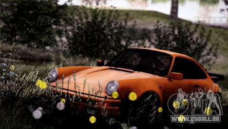 Porsche 911 Turbo 3.3 Coupe 1982 pour GTA San Andreas vue de côté