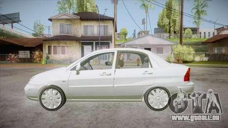 Suzuki Liana 1.3 GLX 2002 pour GTA San Andreas laissé vue