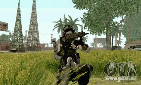 CZ 805 du champ de bataille 4 pour GTA San Andreas deuxième écran