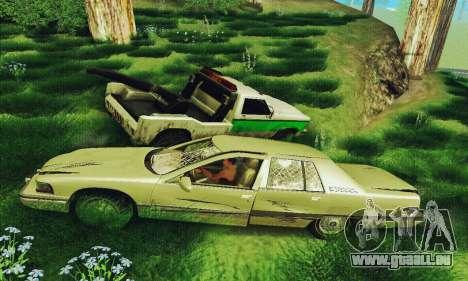 Buick Roadmaster cassé pour GTA San Andreas vue arrière