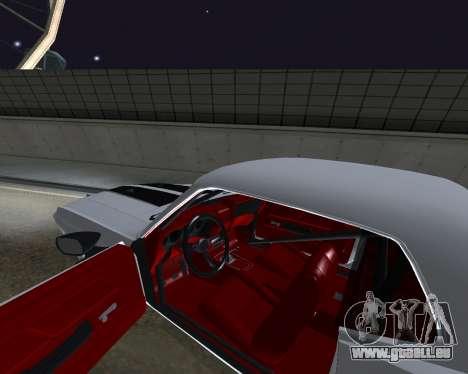 Ford Mustang Anvil pour GTA San Andreas vue de droite