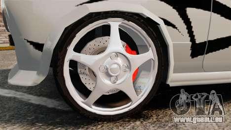 Fiat 124 Tuning pour GTA 4 Vue arrière